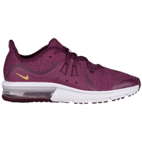 Nike Air Max Sequent 3 - Girls' Grade School - Purple / Gold