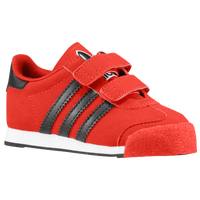 adidas Originals Samoa - Boys' Toddler - Red / Black