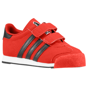 adidas Originals Samoa - Boys' Toddler - Light Scarlet/Black/White