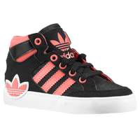 adidas Originals Hard Court Hi - Boys' Toddler - Black / Pink