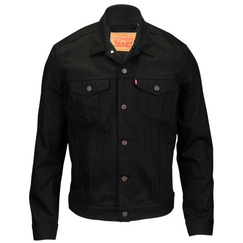Leviu0026#39;s Trucker Denim Jacket - Menu0026#39;s - Casual - Clothing - Polished Black