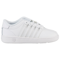 K-Swiss Classic - Boys' Toddler - All White / White