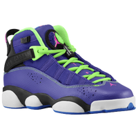 Jordan 6 Rings - Boys' Grade School - Purple / Pink