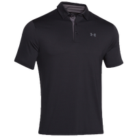 Under Armour Playoff Golf Polo - Men's - Black / Grey