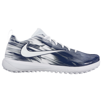 Nike Vapor Varsity Low Turf LAX - Men's - White / Navy