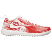 Nike Vapor Varsity Low Turf LAX - Men's - White / Red