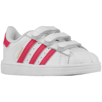 adidas Originals Superstar - Boys' Toddler - White / Pink
