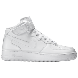 Nike Air Force 1 Mid - Men's - White/White
