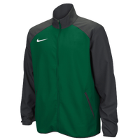 Nike Team Woven Jacket - Men's - Dark Green / Grey