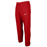 Nike Team Woven Pants - Men's - Red / Red