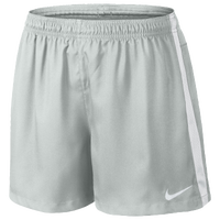 Nike Squad Woven Shorts - Women's - Grey / White