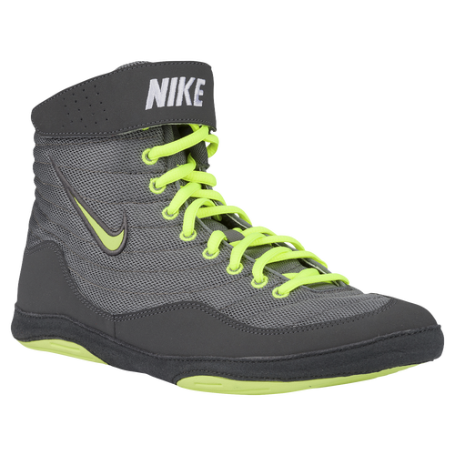 Nike Inflict 3 - Men's - Wrestling - Shoes - Cool Grey/Volt/Dark ...