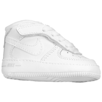 Nike Air Force One Crib - Boys' Infant - All White / White