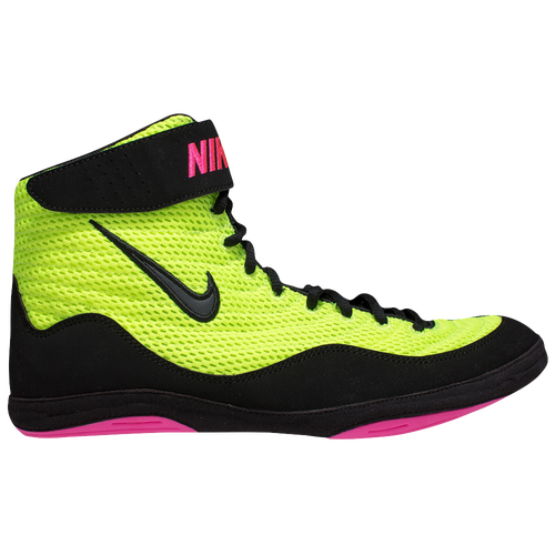 Nike Inflict 3 - Men's - Wrestling - Shoes - Volt/Pink/Black