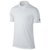 Nike Victory Solid Golf Polo - Men's - All White / White