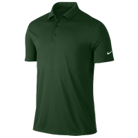 Nike Victory Solid Golf Polo - Men's - Dark Green / Dark Green