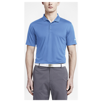 Nike Golf Victory Solid Polo - Men's - Light Blue / White