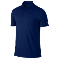 Nike Victory Solid Polo - Men's - Navy / Navy