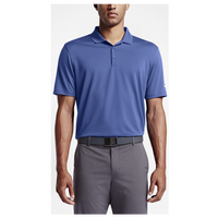 Nike Victory Solid Golf Polo - Men's - Blue / Blue