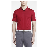 Nike Victory Solid Golf Polo - Men's - Red / Red