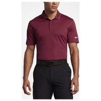 Nike Golf Victory Solid Polo - Men's - Maroon / Maroon