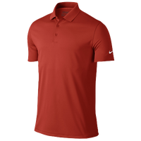 Nike Victory Solid Golf Polo - Men's - Orange / Orange