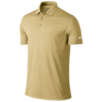 Nike Golf Victory Solid Polo - Men's - Gold / Gold