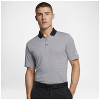 Nike Victory Mini Stripe Golf Polo - Men's - Black / White