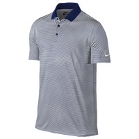 Nike Golf Victory Mini Stripe Polo - Men's - Navy / White