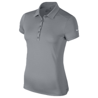 Nike Golf Victory Solid Polo - Women's - Grey / Grey
