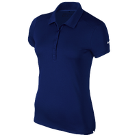 Nike Victory Solid Golf Polo - Women's - Navy / Navy
