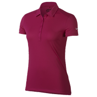 Nike Golf Victory Solid Polo - Women's - Pink / White
