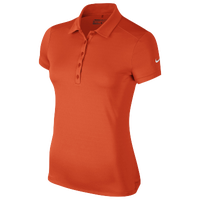 Nike Victory Solid Golf Polo - Women's - Orange / Orange
