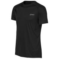 ASICS� Feather Lyte Short Sleeve T-Shirt - Men's - Black / Black