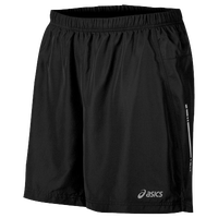 "ASICS® 7"" Core Woven Shorts - Men's - Black / Black"
