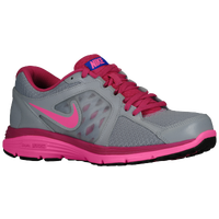 Nike Dual Fusion Run - Women's - Grey / Pink