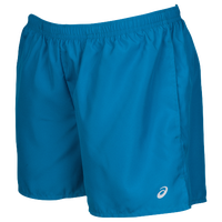 "ASICS® 3.5"" Pocketed Woven Shorts - Women's - Blue / Blue"