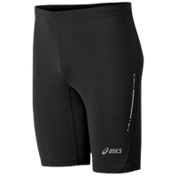"ASICS� 9.5"" Sprinter Shorts - Men's - Black / Black"