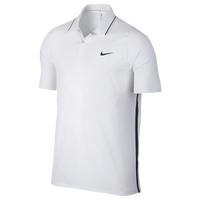 Nike TW VL Max Woven Solid Golf Polo - Men's - White / Black