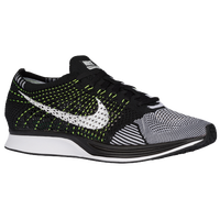 Nike Flyknit Racer - Men's - Black / White