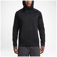 Nike Therma Hoodie - Men's - All Black / Black
