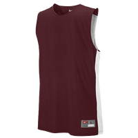 Nike Team League Reversible Tank - Men's - Maroon / White