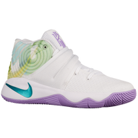 Nike Kyrie 2 - Boys' Preschool -  Kyrie Irving - White / Purple