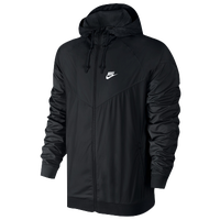 Nike Windrunner Jacket - Men's - All Black / Black