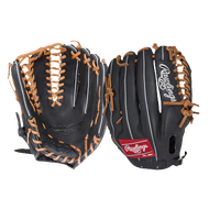 Rawlings Gamer G601BT TRP-WEB Fielder's Glove - Black / Brown