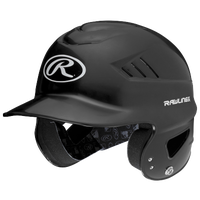 Rawlings Coolflo Batting Helmet - Youth - Black / White