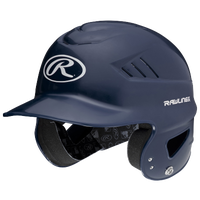 Rawlings Coolflo Batting Helmet - Youth - Navy / White