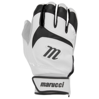 Marucci Signature Batting Gloves - Men's - White / Black