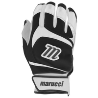 Marucci Signature Batting Gloves - Youth - White / Black