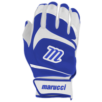 Marucci Signature Batting Gloves - Youth - Blue / White